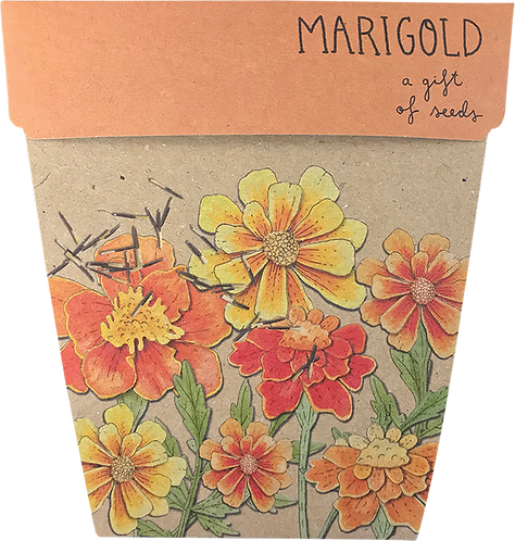 Sow n' Sow Gift of Seeds - Marigolds