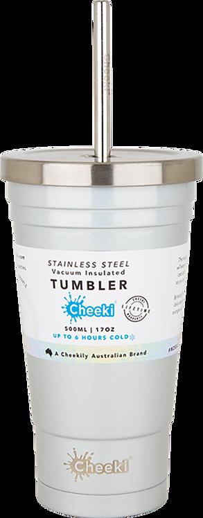 Cheeki Tumber insulated - includes straw - Rainbow Pearl - 500ml