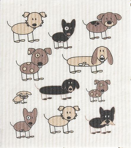 RetroKitchen Dishcloth Dogs
