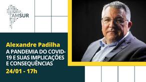 Domingueira AMSUR: Alexandre Padilha