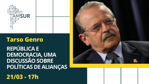 Domingueira AMSUR: Tarso Genro