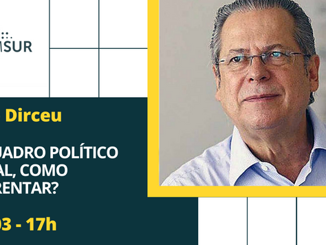 Domingueira AMSUR: José Dirceu