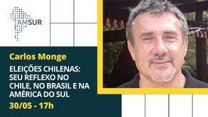 Domingueira AMSUR: Eleições chilenas: seu reflexo no Chile, no Brasil e na América do Sul