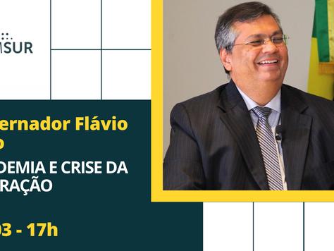 Domingueira AMSUR: Governador Flávio Dino