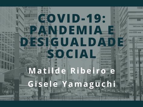 Pensando o Grande ABC: Covid-19: Pandemia e Desigualdade Social