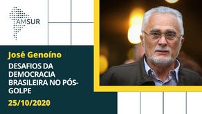 Domingueira AMSUR: Desafios da Democracia Brasileira no Pós-Golpe