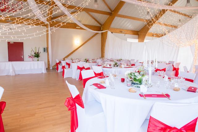 photos de tables mariage