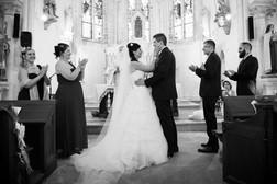 couples a l'église