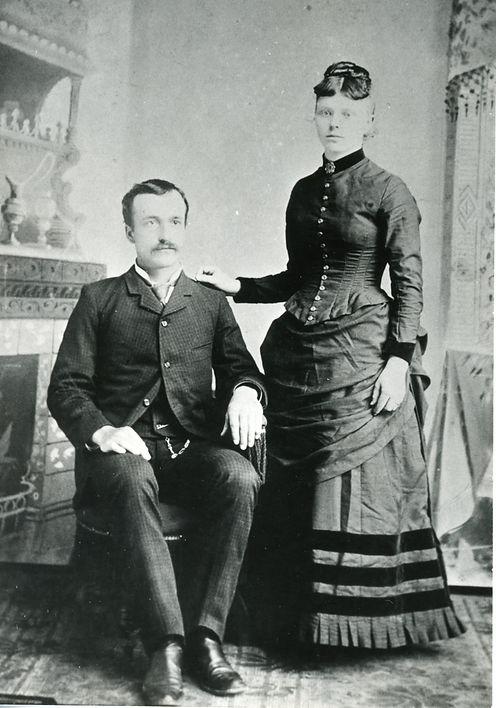 Jim Vanderford and Ada Cooley marriage.j