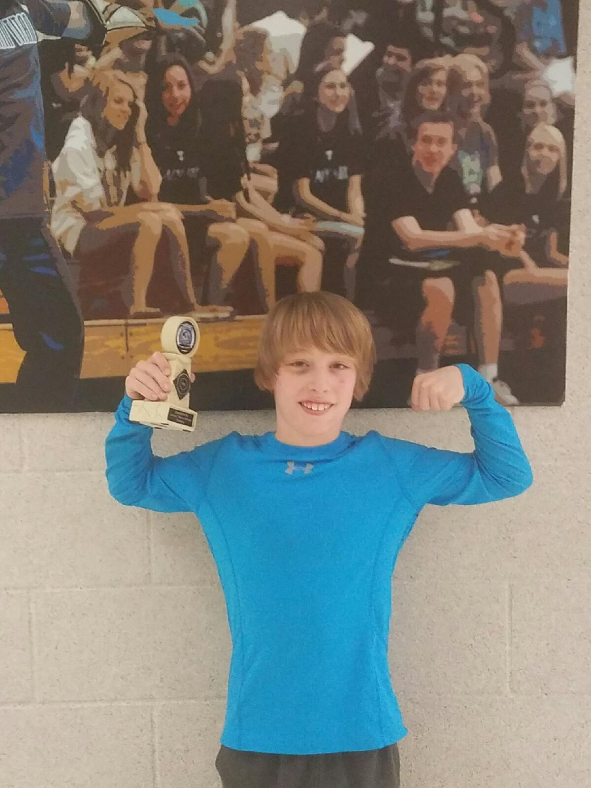 Joshua 1st place Papio South