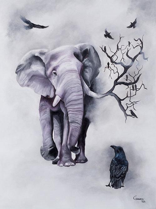 """Merging Nature"" Fine Art Print"