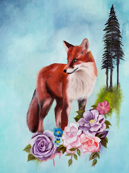 """Merging Nature 1"" Fine Art Prints"