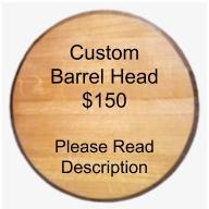Custom Barrel Head - Complex Design