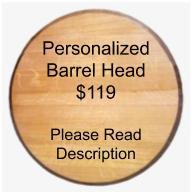 Personalized Barrel Head
