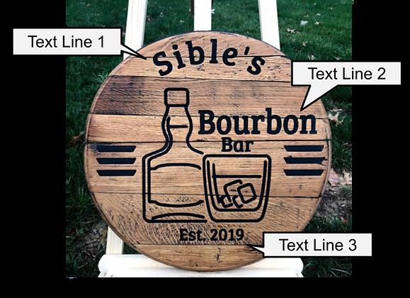 Your Bar Barrel Head
