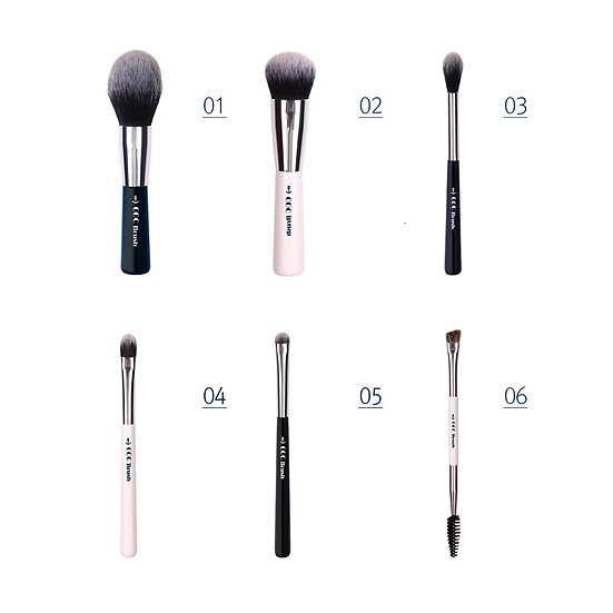 Coringco, Набор кистей для макияжа Marine Blue Make-up Brush Collecion
