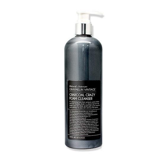 Graymelin, Пенка для умывания с углем Crazy Foam Cleanser (Charcoal)