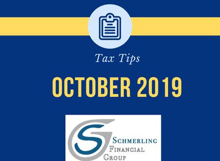 October Tax Tips