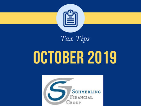 October Tax Tips