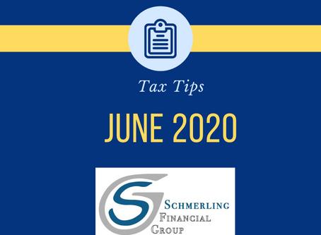 June 2020 Tax Tips