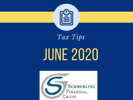June 2020 Tax Tips
