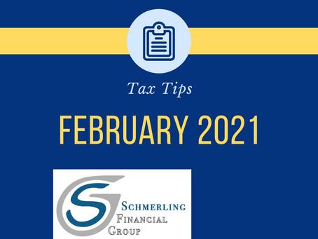 February 2021 Tax-Saving Tips