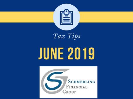 June 2019 Tax Tips