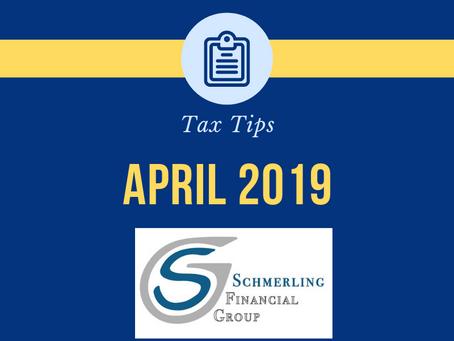 April 2019 Tax Tips