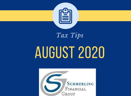 August 2020 Tax Tips