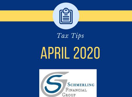 April 2020 Tax Tips