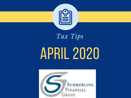 April 2020 Tax Tips