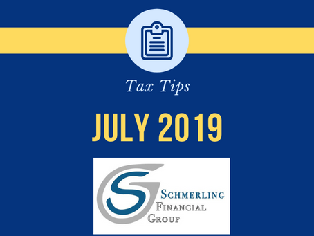 July Tax Tips