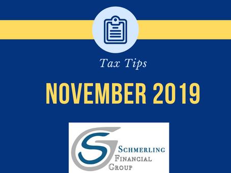 November Tax Tips