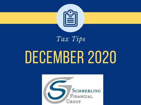 December Tax Tips