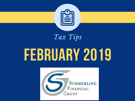 February 2019 Tax Tips