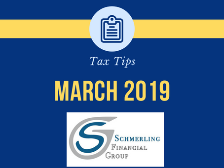 March 2019 Tax Tips