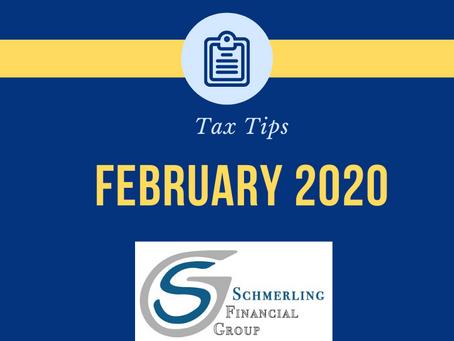 February Tax Tips