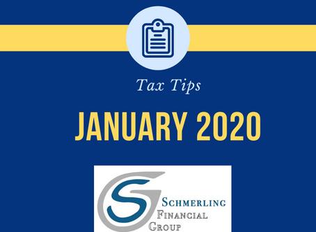January Tax Tips