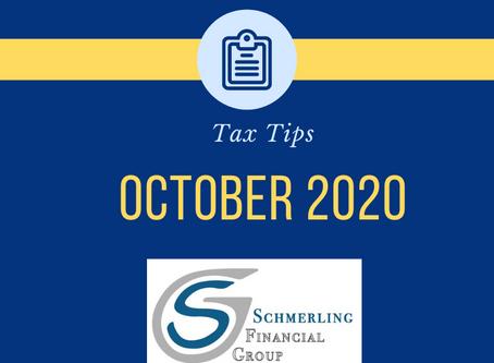 October 2020 Tax Tips