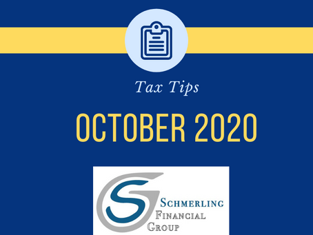 October 2020 Tax Tips