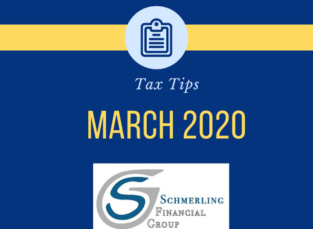 March Tax Tips
