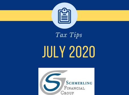 July 2020 Tax Tips