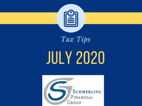 July 2020 Tax Tips