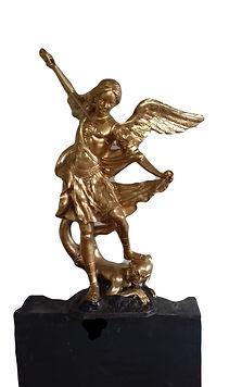 a bronze sculpture San Michele.jpg