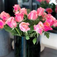 Strauss Rosen Pink mehrfarbig