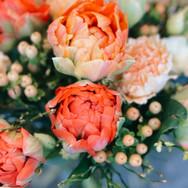 Blumenstrauss mit Tulpen