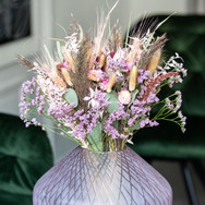 Florales Design Lila