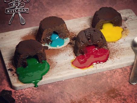 Sorting Hat Lava Cake   Chocolate Fondant Recipe   My Harry Potter Kitchen III (Recipe 20)