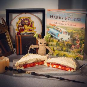 Peanut Butter Jelly Ice Cream Sandwich Recipe | My Harry Potter Kitchen II (Recipe #20)