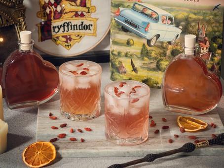 Valentine's Love Potion Cocktail Recipe | My Harry Potter Kitchen II (Recipe 51)